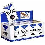00137.2 BLU Full Carton (20 packs-58) of Nic Out Cigarette filters 30 filters each (New 8-hole filter)