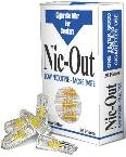 00137.1 BLU Nic-Out Cigarette filters 30 pieces (New 8-hole filter)